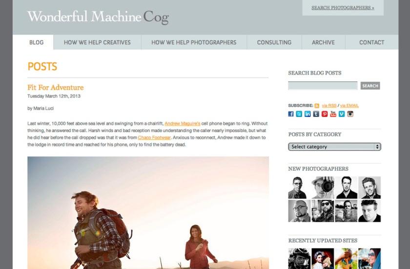 Wonderful Machine's Blog